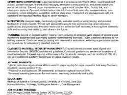Military To Civilian Resume Download Military To Civilian Resume Haadyaooverbayresort Com