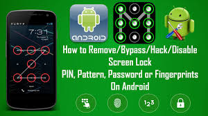 how to hack an android phone from a computer how to remove or bypass android screen locks pin pattern