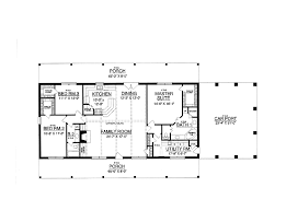 Blueprints For 4 Bedroom Homes by 30x50 Rectangle House Plans Expansive One Story I Would Add A