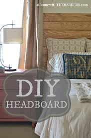 diy headboard at home with the barkers