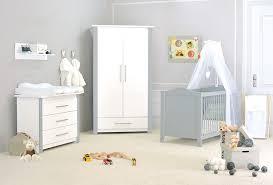 chambre enfant gris chambre bébé pas chère cocoon design blanche et grise made in