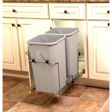 kitchen cabinet recycle bins caet en ikea cabinet trash pull out door can with lid garbage bins