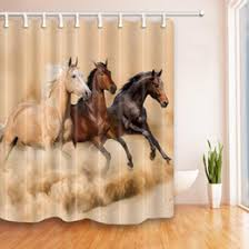Horse Shower Curtains Sale Horse Curtains Online Horse Curtains For Sale