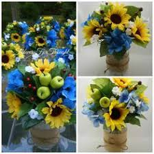 table centerpieces with sunflowers 12 sunflower table arrangements in mason jars custom order for