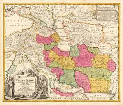 Map Mediterranean Detailed Map Of The Persian Empire Around 1700 Extending From