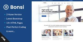 templates for business consultants bonsi business consulting and professional services html template