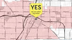Las Vegas Boulevard Map by Am I In Las Vegas Lou Huang