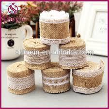 burlap ribbon wholesale decorative burlap ribbon wholesale with lace for holidays and