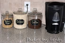 what to put in kitchen canisters chalkboard canister labels archives organize with
