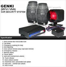 wts car alarm system special designed for myvi