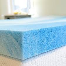amazon com gel memory foam mattress topper queen size 2 inch