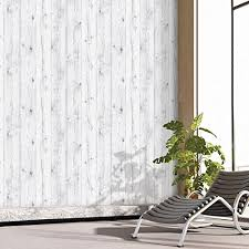 peel and stick wallpaper vintage white wood panel pattern contact paper self adhesive peel