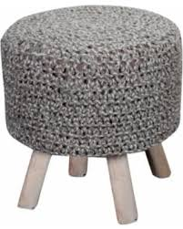 Knitted Ottoman Big Deal On Christopher Home Montana Knitted Fabric