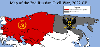 Louisthefox Louis Morrell Deviantart by Map Of The 2nd Russian Civil War 2018 2021 Ce By Redrich1917 On