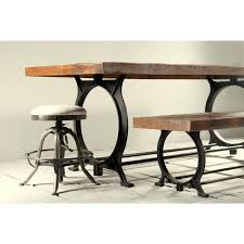 hyatt canning industrial dining table