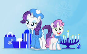 my hanukkah hanukkah ponies two by pixelkitties on deviantart