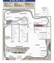 train floor plan usmrr aquia line and other model railroad adventures model