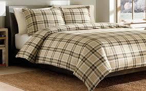 Tartan Flannelette Duvet Cover Top 10 Best Flannel Duvet Covers For Your Bed Smooth Shopper