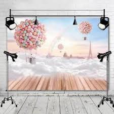 vinyl photography backdrops balloons background photo studio wooden floor vinyl photography