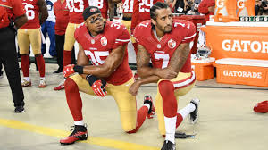 911 Flag Football Staten Island Nfl Players Kneeling During National Anthem How Colin Kaepernick