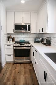 kitchen remodels with white cabinets the most of a small space free kitchen design