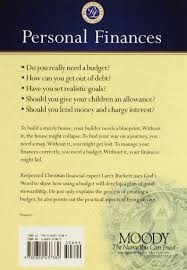 personal finances burkett financial booklets larry burkett