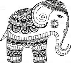 doodle indian doodle indian elephant stock vector 546428268 istock
