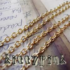 gold plated necklace wholesale images 2 50 metres gold plated chain 3 x 2mm nickel free necklace wholesale b jpeg