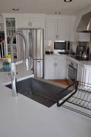 Restaurant Kitchen Faucets by Granite Countertop White Shaker Style Cabinet Doors Most Popular