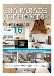 Powder Room Powell Ohio Bia Parade Of Homes 2016 By The Columbus Dispatch Issuu