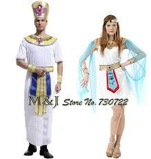Egyptian Pharaoh Halloween Costume Free Shipping Men Women Costumes Halloween Couples