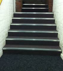 Prefabricated Aluminum Stairs by The Advantages Of Installing Slip Resistant Stair Nosings
