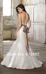 aliexpress com buy sleeveless two piece lace and satin mermaid