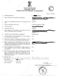 copyright registration certificate issued by registrar of