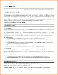 Job Description Resume Nurse by Icu Resume Resume For Your Job Application
