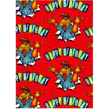 comic wrapping paper wrap 06 alf wrapping paper gifts net nz