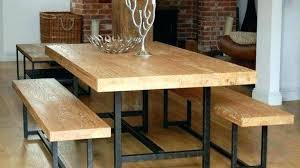farmhouse table with bench and chairs dining room table with bench and chairs lesdonheures com