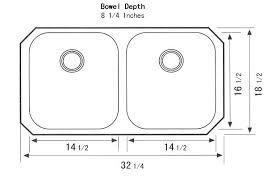 Kitchen Sink Width Kitchen Sink Drain Size Kitchen Sink Measurements Ideas Bar Drain