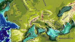 a map of middle earth j r r tolkien s lord of the rings real places may