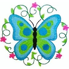 butterfly7 butterfly machine embroidery design creative