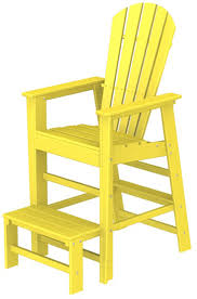 Recycled Adirondack Chairs South Beach Lifeguard Adirondack Chair