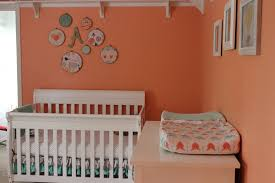 avery u0027s coral and mint nursery project nursery