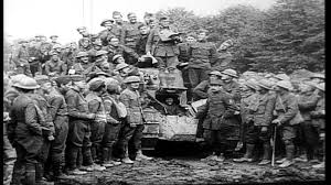 french renault tank u s army soldiers listen to instructions regarding french renault