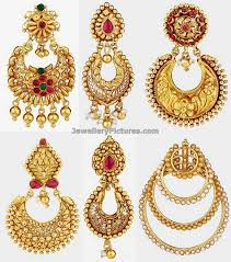 gold earring design with price chand bali earrings in gold jewellery designs