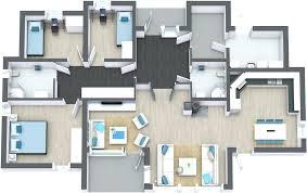 modern open floor house plans floor plan of modern house interior plans 3d 2 small home