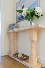 Diy Console Table Build A Console Table U2022 Nourish And Nestle