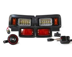 club car picking the best golf cart light kit