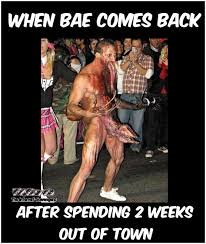 Funny Naughty Memes - when bae comes back after 2 weeks funny adult meme pmslweb