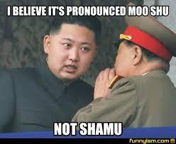 Moo Meme - i believe it s pronounced moo shu not shamu meme factory