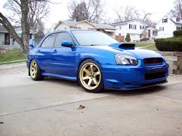 subaru 2004 custom subaru impreza wrx sti custom wheels rota grid 18x9 5 et 33
